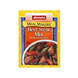 Adolph's Meal Makers Beef Stew Mix (Pack of 4)