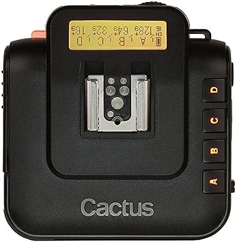 Cactus V6 - Transceptor inalámbrico, Negro: Amazon.es: Electrónica