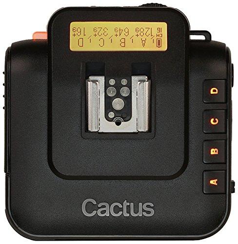 Cactus V6 - Mando a distancia, color negro