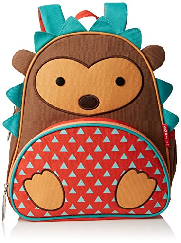 Skip Hop Zoo Little Kid and Toddler Backpack, Hudson Hedgehog