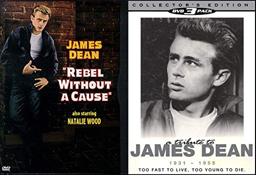 Rebel Life/ Too Fast to Live, Too Young to Die - Rebel Without A Cause & A Tribute to James Dean (Collector's Edition) Dvd Bundle