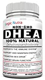 DHEA 100 mg Maximum Strength Supplement - Look & Feel Younger - Balance Hormone Levels For Men & Women - 60 Vegetable Capsules Guaranteed To Work Or Your Money Back, No Questions Asked!
