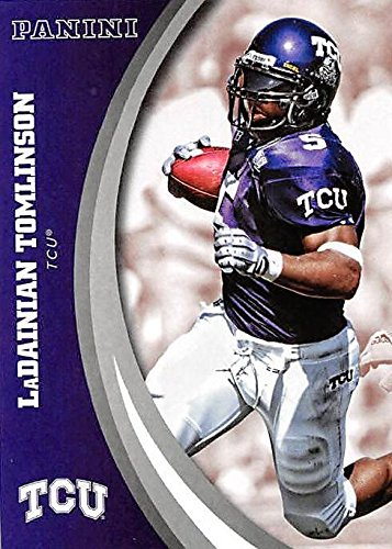 LaDainian Tomlinson football card (TCU Horned Frogs) 2016 Panini Team Collection #24