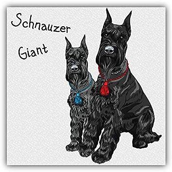 Sticker of Schnauzer Dog Inside for Bumper Travel Laptop Tablet Suitcase