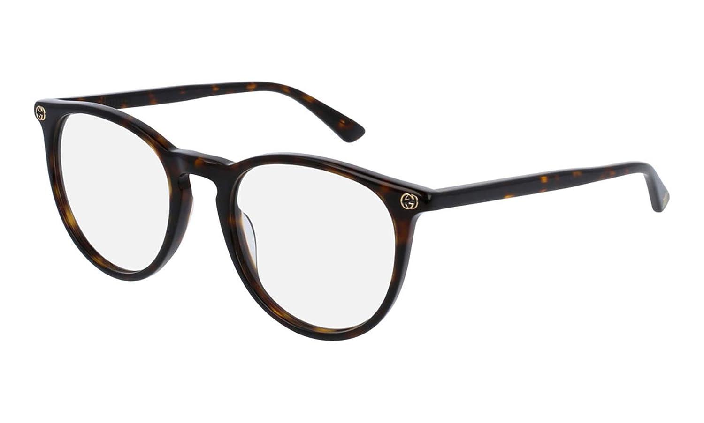 918156e2bc958 Amazon.com  Gucci Women s Gg0027o 50Mm Optical Glasses  Clothing