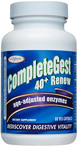 Enzymatic Therapy - CompleteGest 40+ Renew formerly CompleteGest Renew - 60 V...