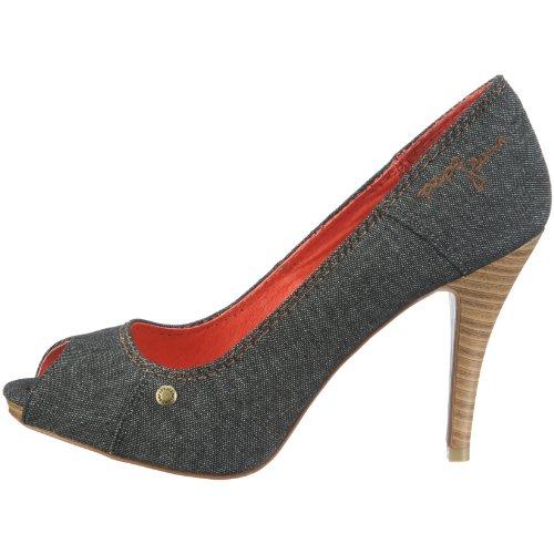A Vestir Dv 230 Diva De Jeans Mujer London Negro Zapatos Pepe Para wqSpXx