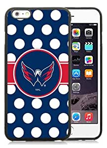 High Quality iPhone 6 Plus 5.5 Inch TPU Case ,Cool And Fantastic Designed Case With Washington Capitals 24 Black iPhone 6 Plus Cover