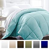 Beckham Hotel Collection 1200 Series - Lightweight - Luxury Goose Down Alternative Comforter - Hotel Quality Comforter and Hypoallergenic - King/Cal King - Aqua