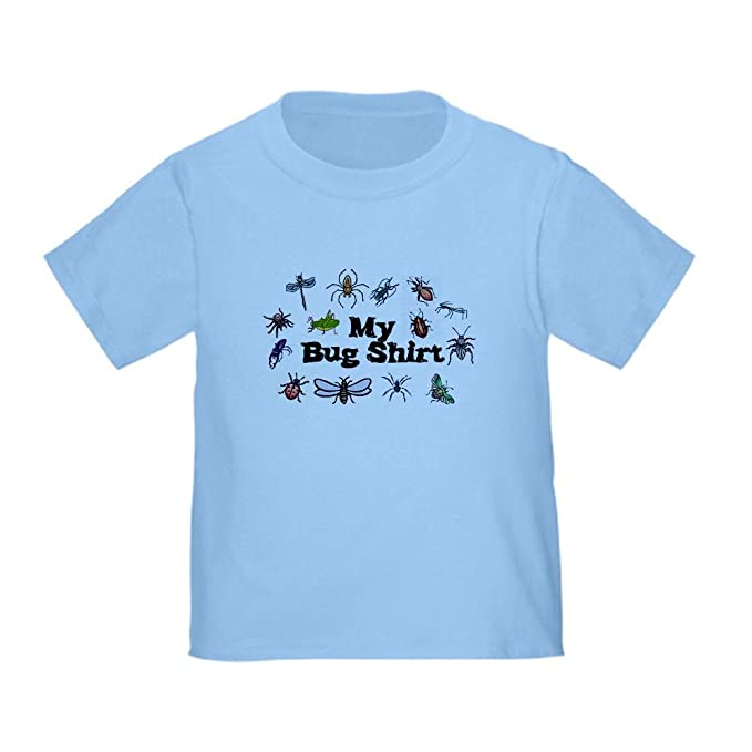 6a82ec36 Amazon.com: CafePress My Bug Shirt Toddler T-Shirt Toddler Tshirt ...