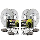 Power Stop K114-26 1-Click Street Warrior Z26 Brake Kit