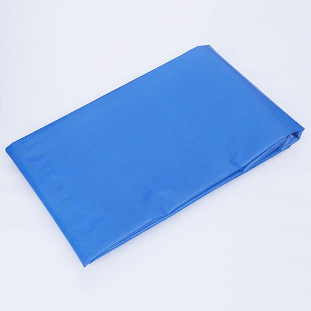 AJZGF Im Freien Plane, im Freien Wasserdichte Doppelseitige feuchtigkeitsdichte feuchtigkeitsdichte Doppelseitige Fracht staubdicht LKW-Plane Hochtemperatur-Anti-Aging Zelt Tuch, blau (Farbe : Blau, größe : 5x10m) 7cb976
