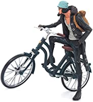 Zfggd Una Pieza de la Bicicleta Azul Marino Personaje de Dibujos ...
