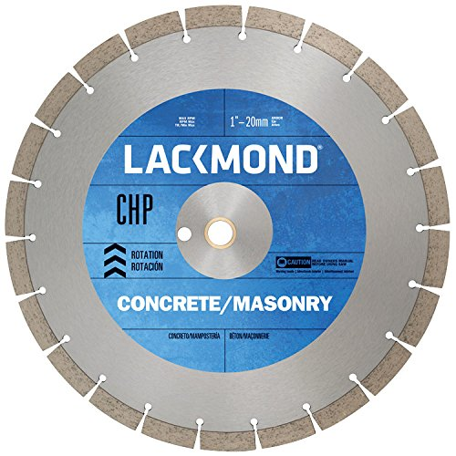 Series Walk Behind Concrete Saw (Lackmond SG16CHP1 CHP Series Dry Cut Diamond Blade for Cured Concrete, 16-Inch by .125 by 1-Inch by 20mm)