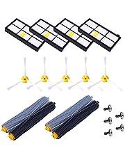 VEYETTE Accesorios iRobot Aspiradoras Roomba Reemplazo del Kit Repuestos Cepillos Rodillo del Filtro Serie 600 620 651 600 630 650 660