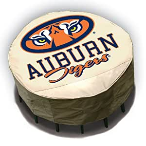 Auburn Tigers Round Outdoor Table Cover