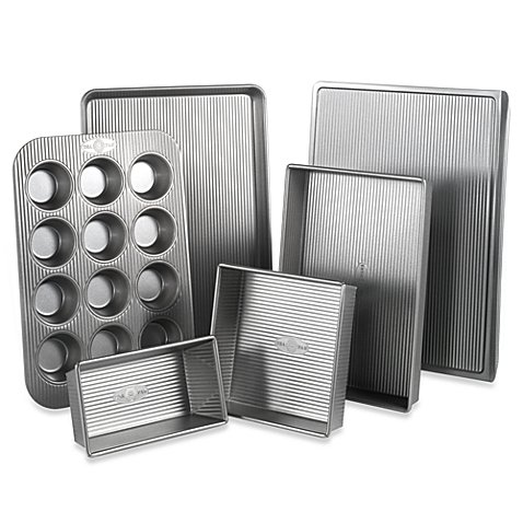 USA Pan Nonstick 6-Piece Bakeware Set by USA Pan