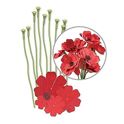 Buy We R Memory Keepers We R Crepe Paper Flowers Kit Red Online At