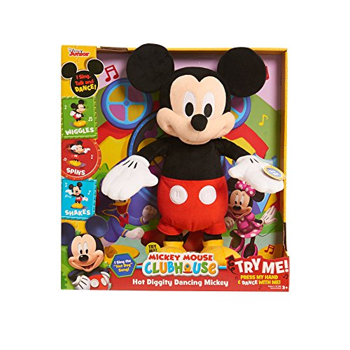 Diggity Dog Toy - Just Play 10080 Mickey Mouse Clubhouse Hot Diggity Dancing Mickey