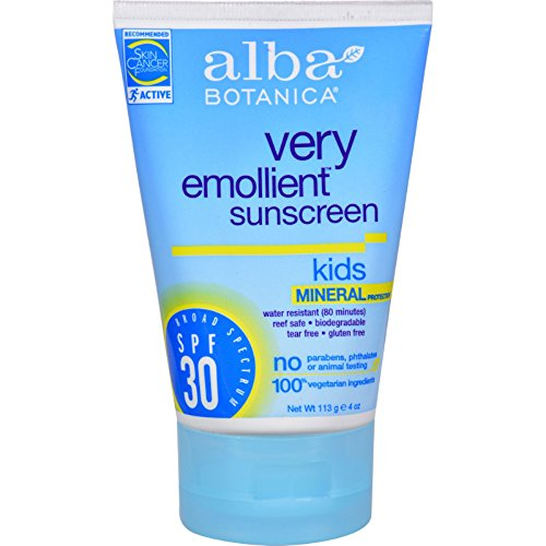 ica Very Emollient Natural Sun Block Mineral Protection Kids SPF 30 - 4 oz - - - ()
