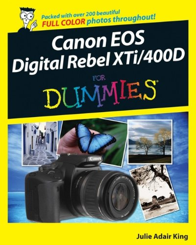 Canon EOS Digital Rebel XTi / 400D For Dummies (Canon Eos 400d Digital Camera)