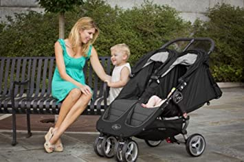 Baby Jogger 2012 City Mini Double Stroller, Crimson Gray Discontinued by Manufacturer