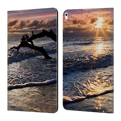 - Official Celebrate Life Gallery Sparkly Water at Driftwood Beaches Leather Book Wallet Case Cover Compatible for iPad Air (2019)