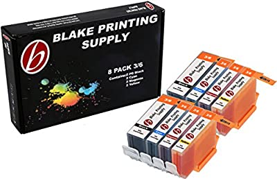 8 Pack Blake Printing Supply BCI3 Ink Cartridges for Canon FAX C855 Multipass F30 Multipass F50 F60 F80 Multipass MP700 Multipass MP730 S500 S520 S530D S600 S630 S630 Network S750 i550 i850