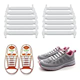 LattoGe No Tie Shoelaces for Kids Adults -Lace Lock Bands Athletic Running Elastic Shoe Laces,Sneakers