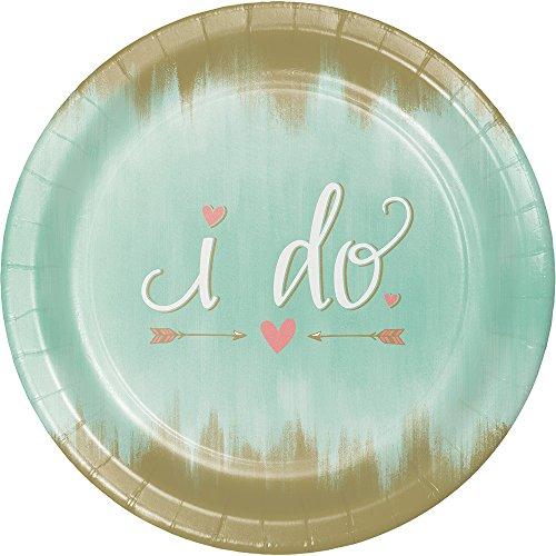 Creative Converting 324677 Banquet Plates, 10.25