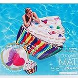 Intex Inflatable Cupcake Swimming Pool Mat