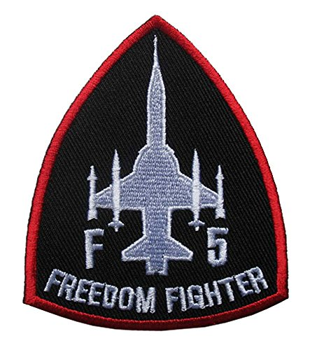 F-5 Freedom Fighter Tiger II Embroidered Iron on Patch Free