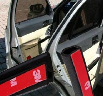 Hotsystem Car Truck Motor Door Rubber Seal Strip Decorate