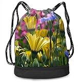 Best b.m.c Shoulder Bags - Sport Drawstring Backpack Sport Gym Bag Beatybag,Vail Flowers Review