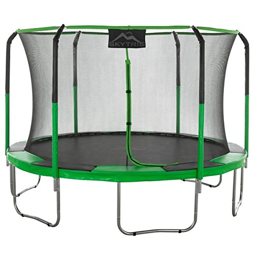 SKYTRIC Trampoline with Top Enclosure by Upper Bounce