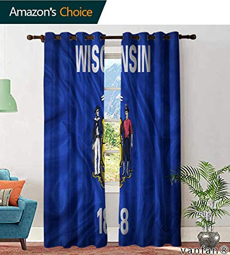LQQBSTORAGE Custom Pattern Country Curtains Valance aces as Texas Hold em Winning Poker Hand Cards, Curtains in Living Room, W84 x L108 Inch, (2 Panels)