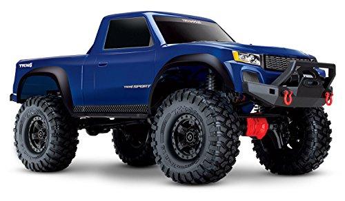 Traxxas 82024-4 TRX-4 Sport 4X4 1/10 Scale Crawler, Blue ()