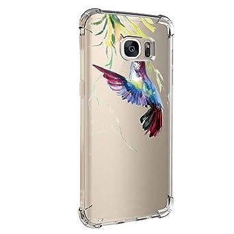 Kompatibel mit Galaxy S7 S7 Edge Hülle Galaxy S6 / S6 Edge Plus Hülle Silikon Bumper Cover Case Ultra Dünn Stoßfest TPU Schut