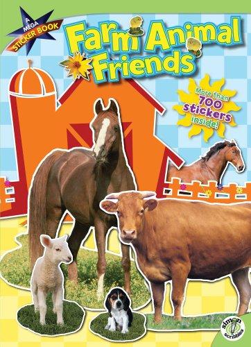 Farm Animal Friends: A Mega Sticker Book from Lestz Wholesale