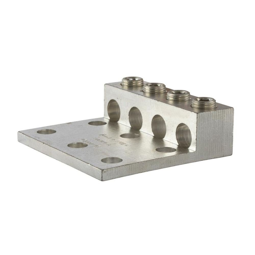 Dual Rated Heavy Duty Transformer Lug 3.87 Width 0.563 Mouting Hole 350 MCM 5.31 Length 0.563 Mouting Hole 3//8 Hex Size 3.87 Width 1.38 Height 5.31 Length NSI Industries 4-350LL6 1.38 Height 3//8 Hex Size 6 AWG Wire Range