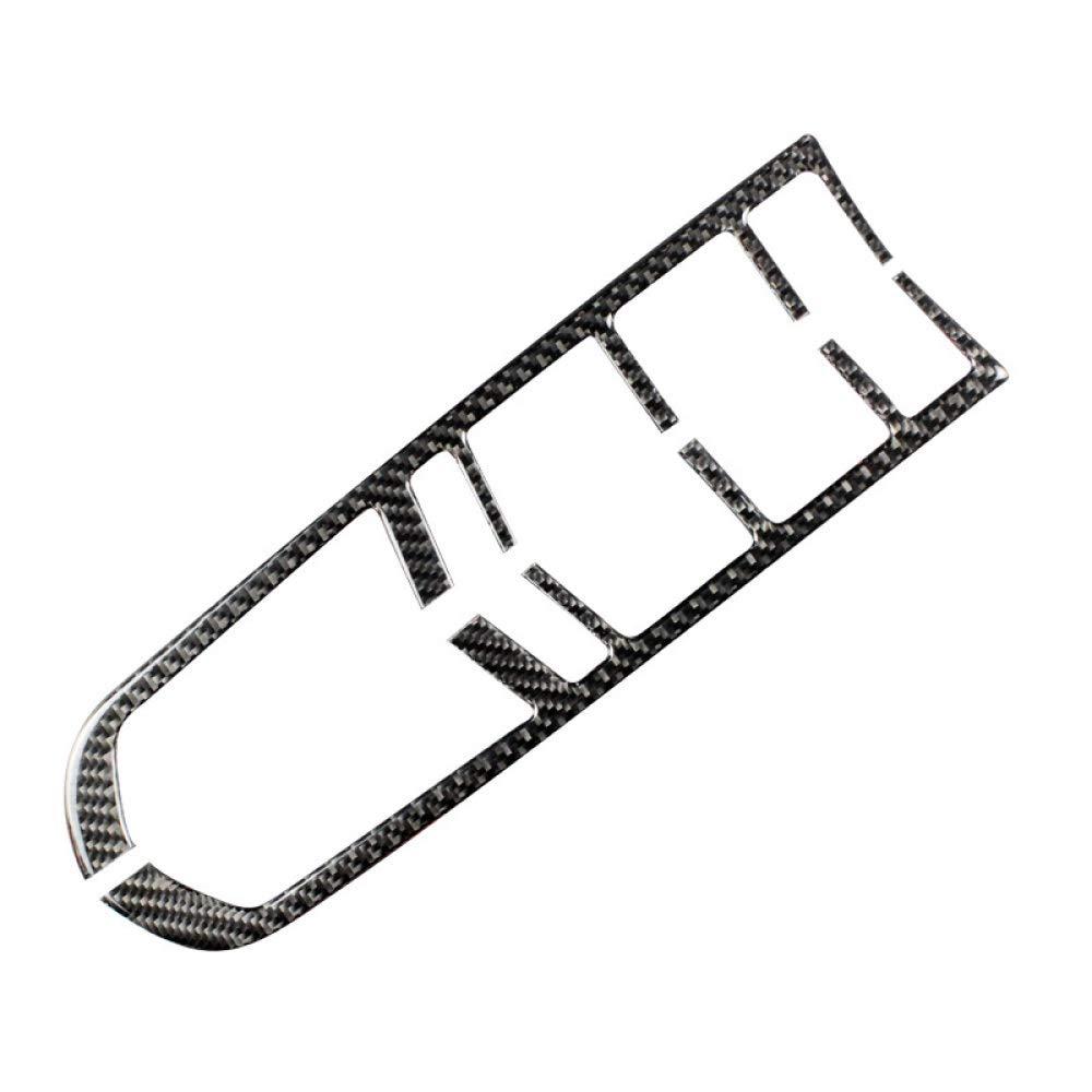 Gnnlor Autocollants de d/écalque de Panneau de Commande de Panneau de Commande Central dengrenage de Fibre de Carbone de Moulage int/érieur de Voiture pour Porsche macan