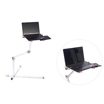 Maclean MC-616 - Atril Soporte de regazo para ordenador portátil, netbook 7-