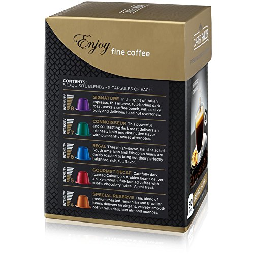 nespresso compatible capsules variety pack 30 dark roast import it all. Black Bedroom Furniture Sets. Home Design Ideas
