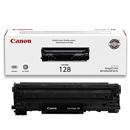 Canon Original 128 Toner Cartridge - Black