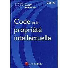 Code de la propriété intellectuelle (14e édition)