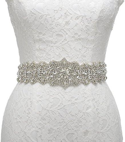AW Premium Wedding Handmade Rhinestone