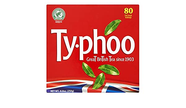 Typhoo Bolsas de té 80 por paquete: Amazon.es: Bebé