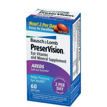 Bausch Lomb PreserVision Supplement Softgels product image