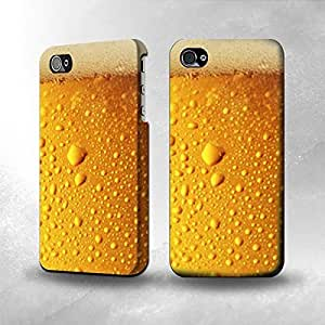 Apple iPhone 5 / 5S Case - The Best 3D Full Wrap iPhone Case - Beer Glass