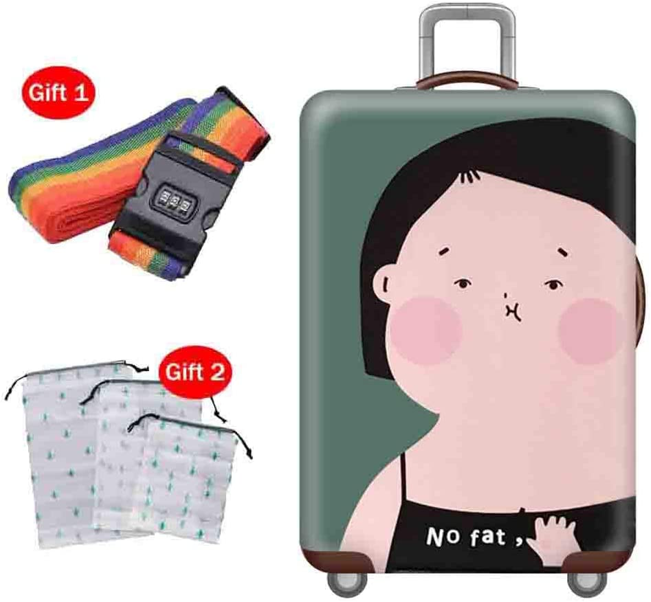 Suitcase Cover Elasticity is Not Deformed Waterproof and Dustproof Cover Shipping Box Seismic Shock-Reducing Protective Sleeve 18-32 Inches